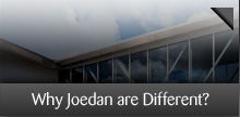 why joedan are different